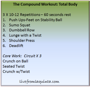 Friday Fitness: 2 Workouts. Get Your Vanity On and Learn to Function