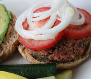 Get Ready for Barbecue Season with this BBQ Kidney Bean Quinoa Burger Recipe