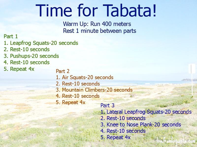 Time For Tabata