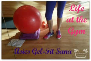 Life at the Gym: Asics Gel-Fit Sana Review