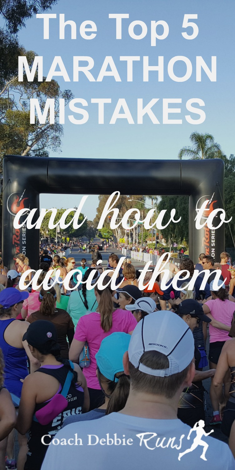 Here are the top 5 marathon mistakes that even the pros make. Avoiding them will help you have a more successful race.