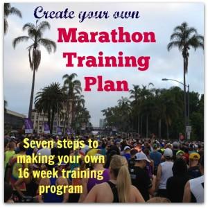 Create Your Own Marathon Training Plan