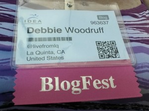 The Scoop: Blogfest and IDEAWorld. Gabby, Jillian, Beto and more!