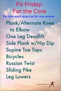 For the Core: Seven Exercises for a Strong Core