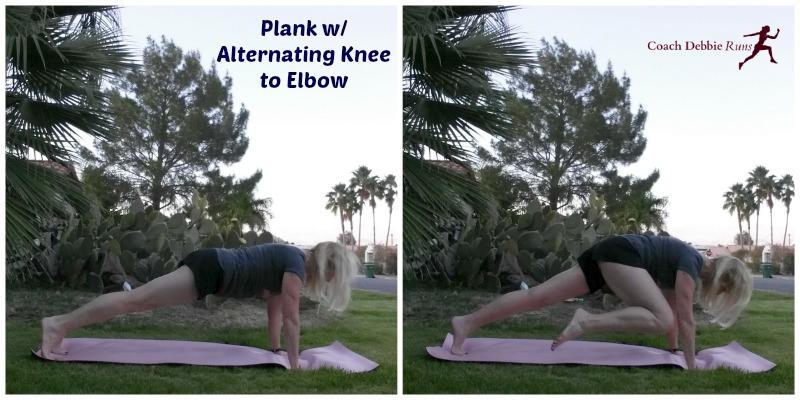 Plank Altnernating Knee