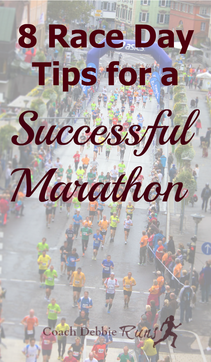 A lot of training goes into running a marathon. These race day tips will make sure that you have a successful marathon.