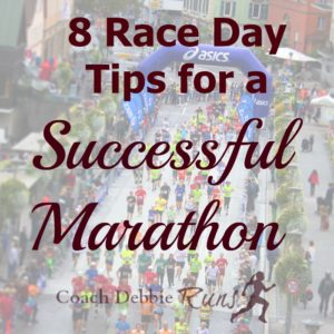 8 Race Day Tips for a Successful Marathon