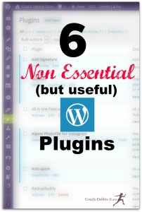 6 Non-Essential WordPress Plugins that I Love