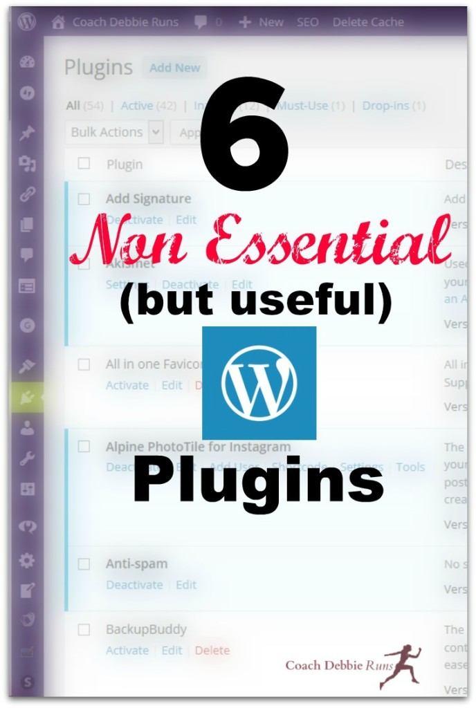 Yes, too many plugins can slow down your site, so make sure you are using the best ones for your purposes. Here are my favorite 6 Non Essential Plugins