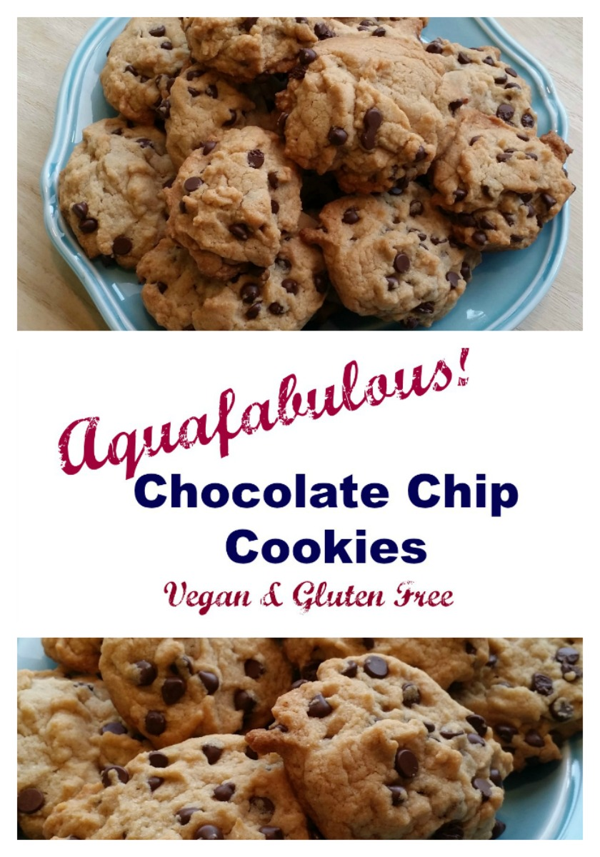 Vegan and gluten free chocolate chip cookies with aquafaba, the ...