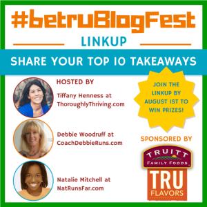 Blogfest: My Top 10 Takeaways Linkup