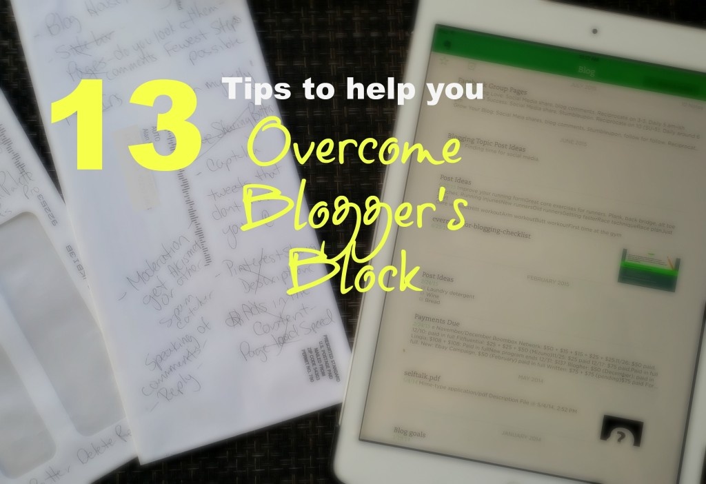 Here are 13 useful tips that will help you overcome blogger's block, including how to find post topics and ideas for posts.