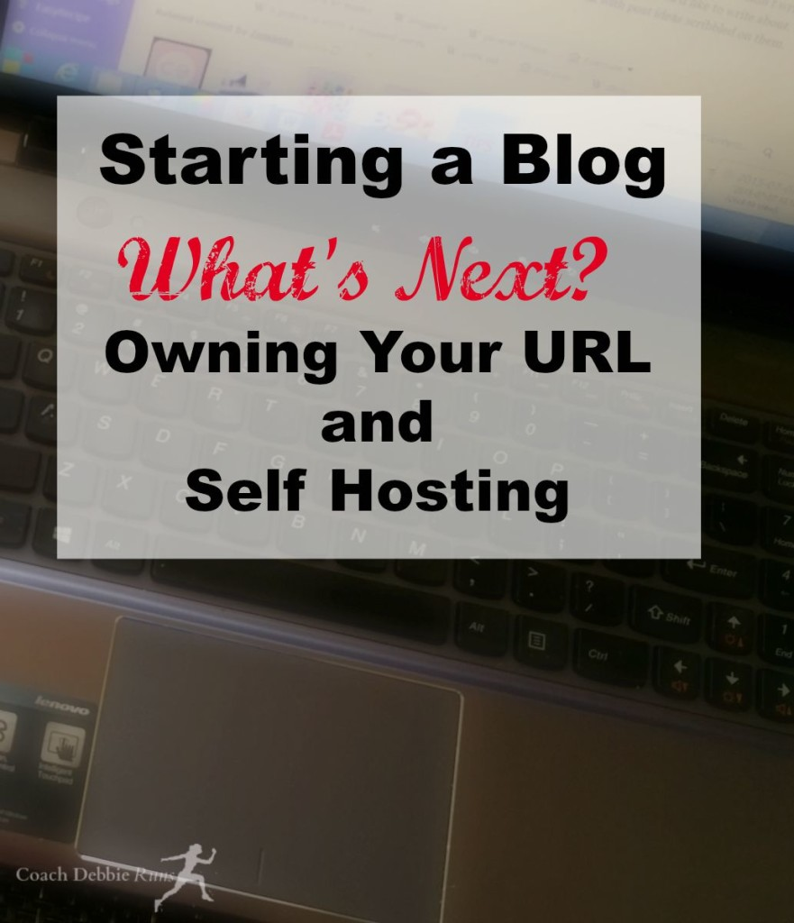 Part 3 of the series. Starting a Blog: What's Next? Owning your own URL and Self Hosting.