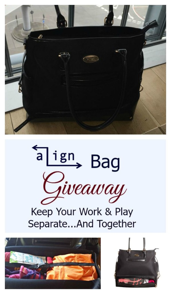 Read about the Work to Gym Align Bag and enter the giveaway to win an Align Pro.
