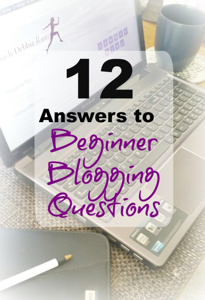 Beginner Blogging Questions: If you're new to blogging, you probably have lots of questions. Here are some answers that can help.