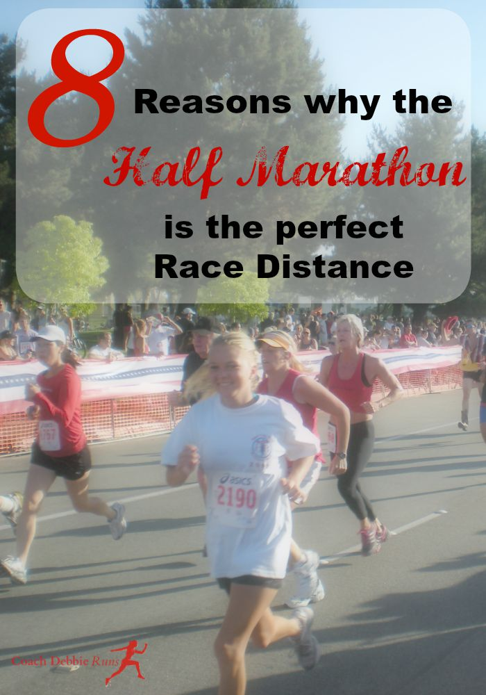 8 Reasons why the Half Marathon is the perfect race distance. Plus a half marathon speed workout!