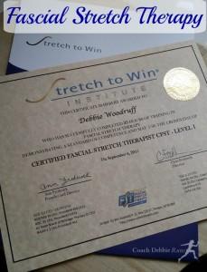 Coach Debbie, Certified Fascial Stretch Therapist