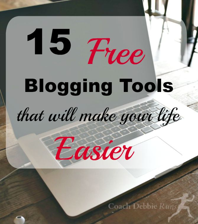 This list of 15 free blogging tools will make your life easier.