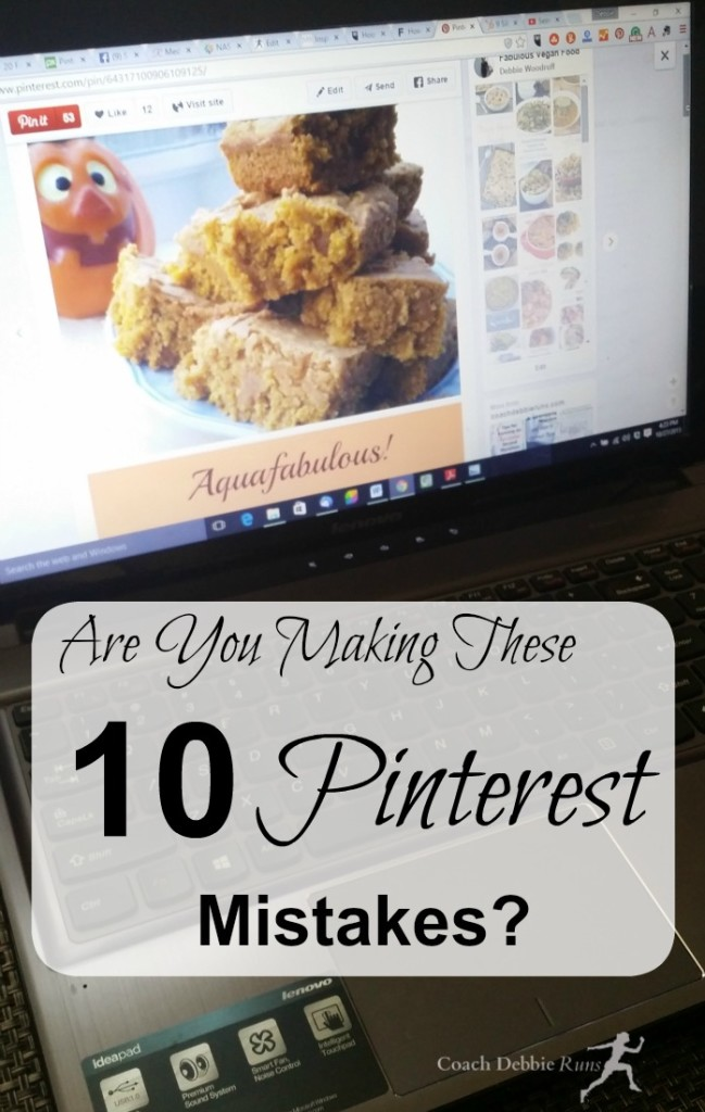 Are you making these 10 Pinterest Mistakes? Here are tips to fix them that will help you get more repins, referral traffic, and followers.