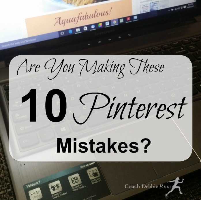 Here are 10 Pinterest mistakes that you may be making. Here's how to correct them and get rocking on Pinterest.