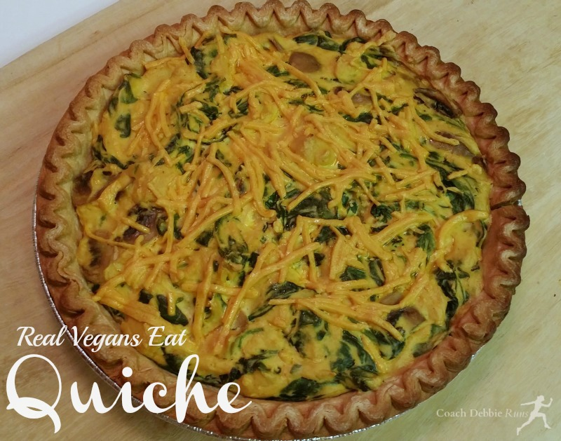 Yes, real vegans can eat quiche!
