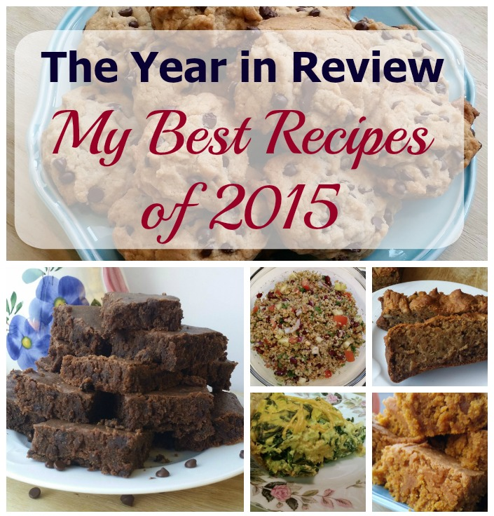 From cookies to tacos to omelettes they're all #vegan and delicious. My Best recipes of 2015.