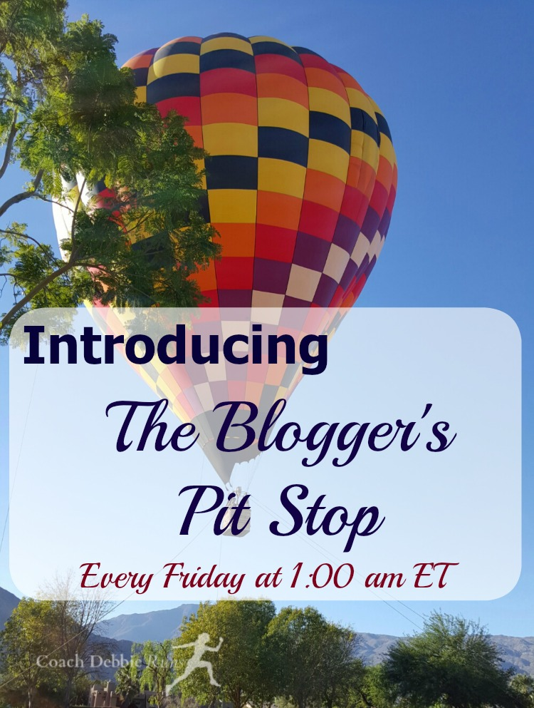 I'm excited to announce the Blogger's Pit Stop, a new linkup party that I will be co-hosting. Join us every Friday! Link up your posts, plus get your blogging questions at the Blogger's Pit Stop!