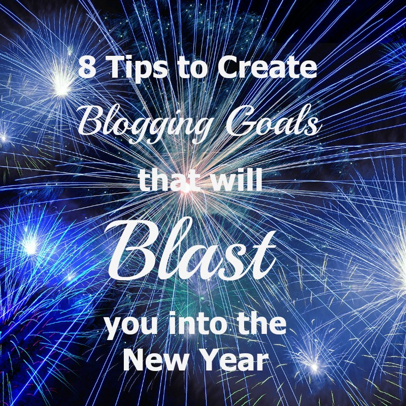 Here are the 8 steps that I use to create Blogging Goals each year. They can help you create goals for your own blog!
