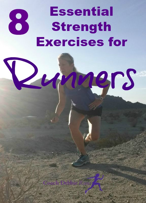 This 30 minutes workout contains 8 Essential Strength Exercises for Runners. It can be done after a short run, and uses little or no equipment.