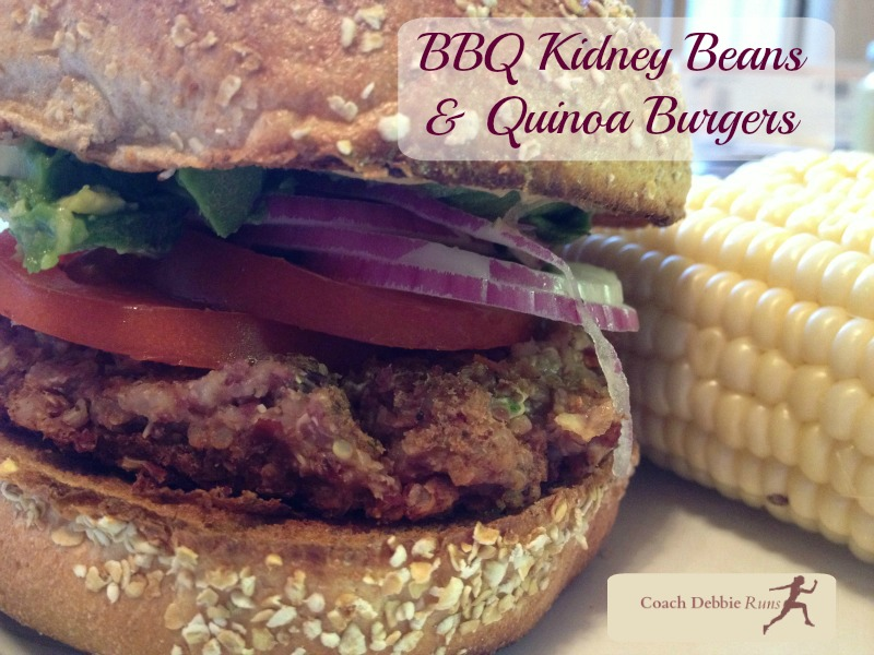 Don't skip the burgers at your Superbowl party! These BBQ Kidney Bean and Quinoa burgers are a great way to kickoff your meal.