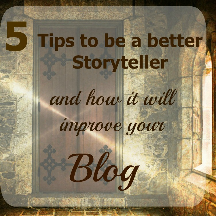 Be a better storyteller. You can influence others (and blog better) by telling your own story.