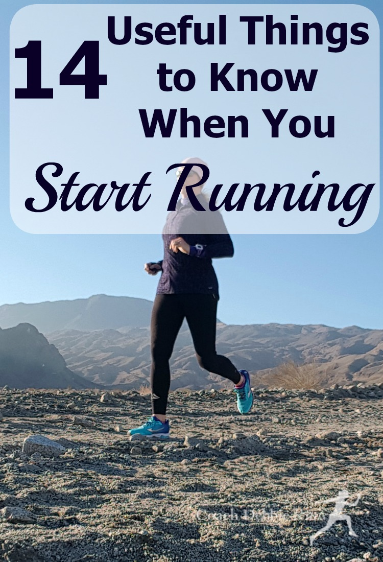 If you're planning to start running, here are 14 useful things to know before you start that will help you enjoy it more and prevent injury. You may even find you love it!