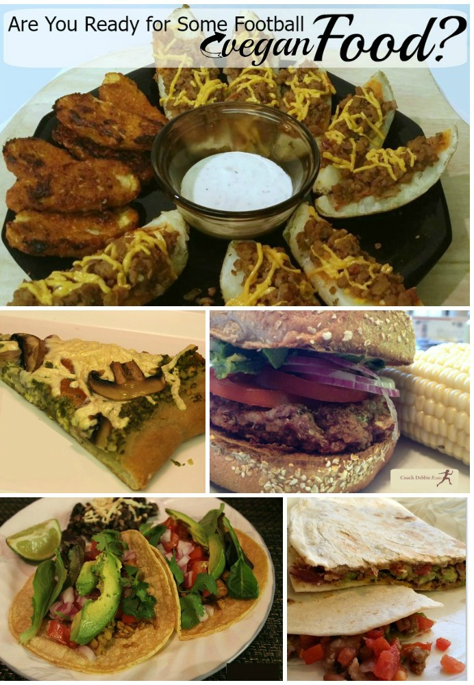 "Here are some great plant-based alternatives for a great vegan Superbowl party! From burgers and ""wings,"" to pizza, quesadillas, and tacos, here is a delicious collection of vegan appetizers."