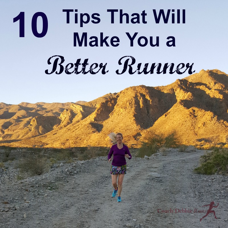Whatever your #running goals..faster, injury free..these tips will make you a better runner.