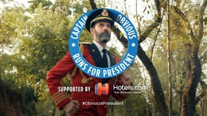 The Campaign is Heating Up! Captain Obvious Needs Your Vote!