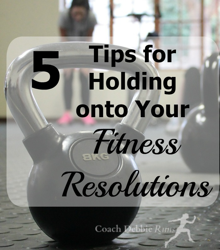 It's almost February. How are your fitness resolutions doing? Here are 5 tips to get you back on track. #fitness