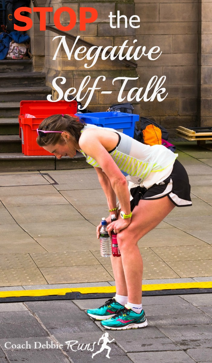 Here are 5 tips that can help you stop the negative self-talk that can hold you back, not only in running, but in life.