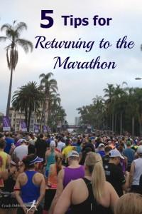 5 Tips for Returning to the Marathon