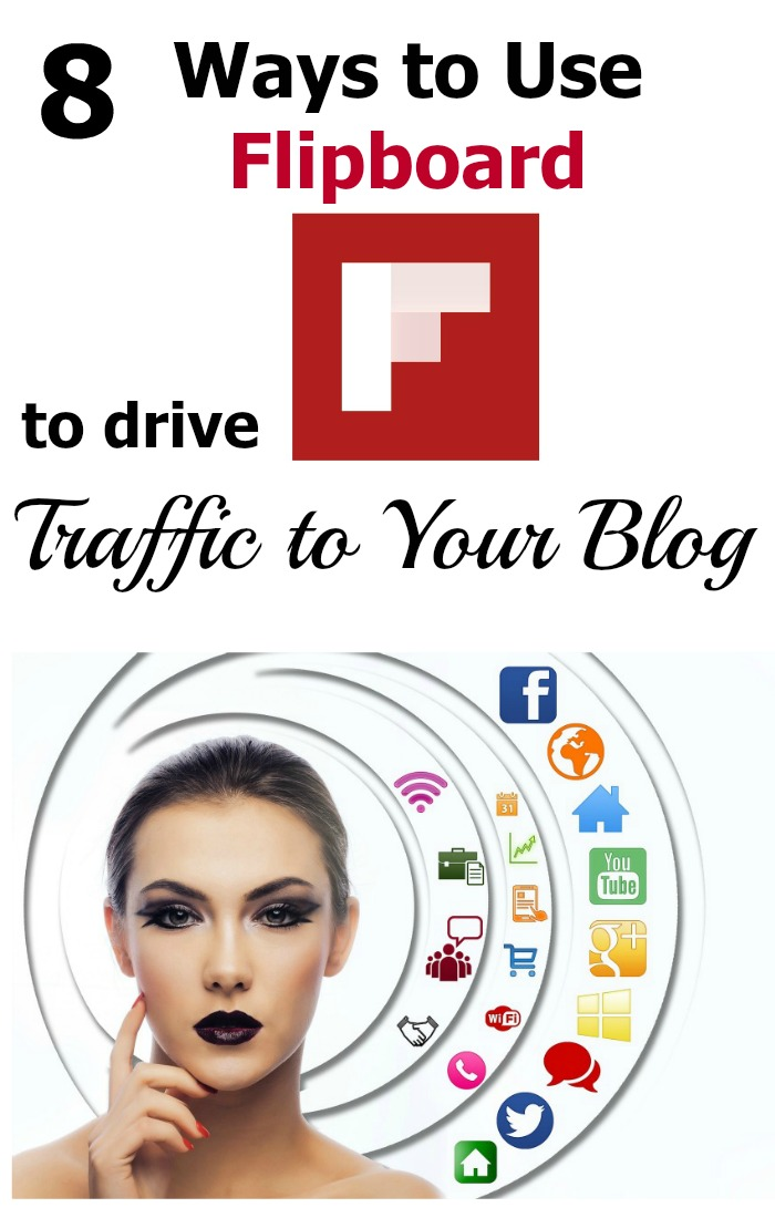 Learn how Flipboard can drive more traffic to your blog! Here are 8 easy things you can do to get more blog traffic from Flipboard.