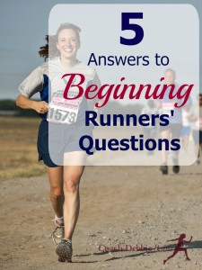 5 Answers to Beginning Runners' Questions
