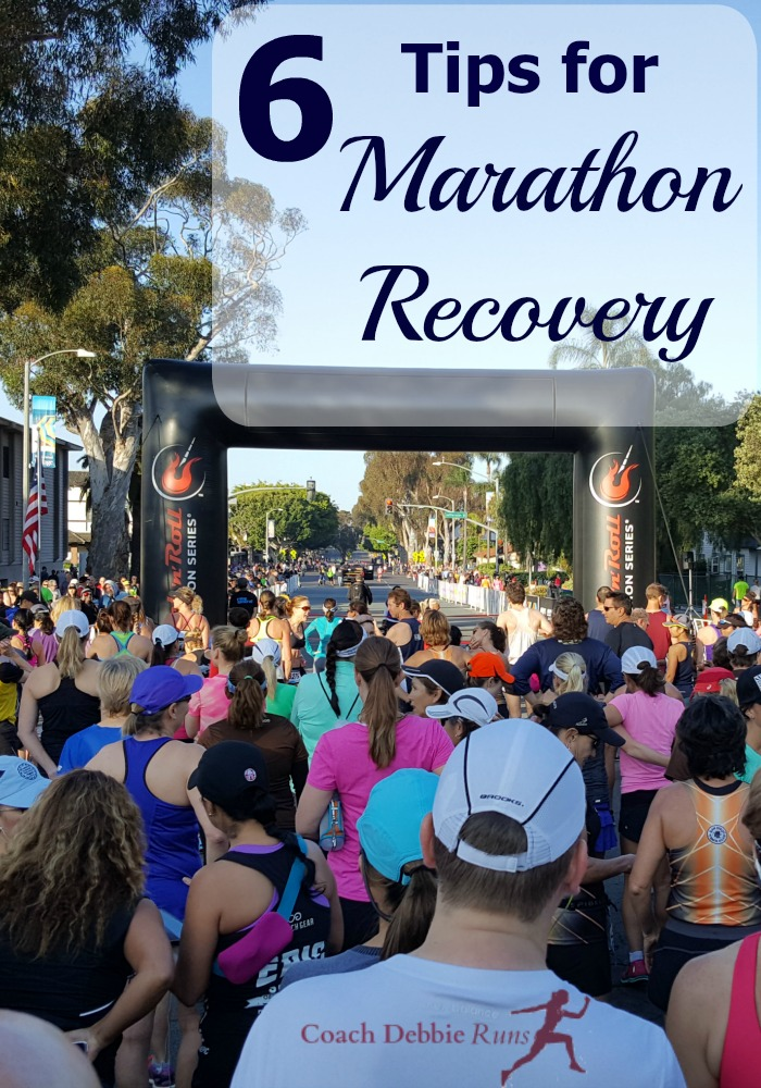 Marathons are hard on the body. No matter your pace, you have been pounding for 26.2 miles. Here are some tips to maximize marathon recovery.