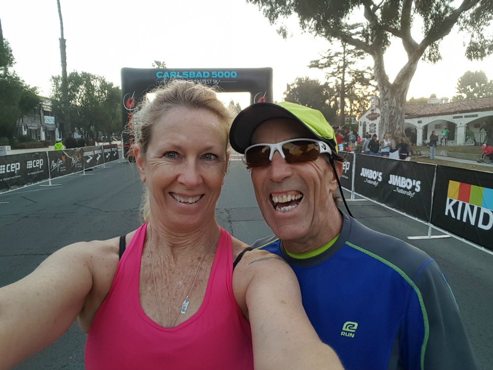 So much fun with the #RocknBlog team at the #Carlsbad5000! @runningwithsd @stuftmama @runwiki