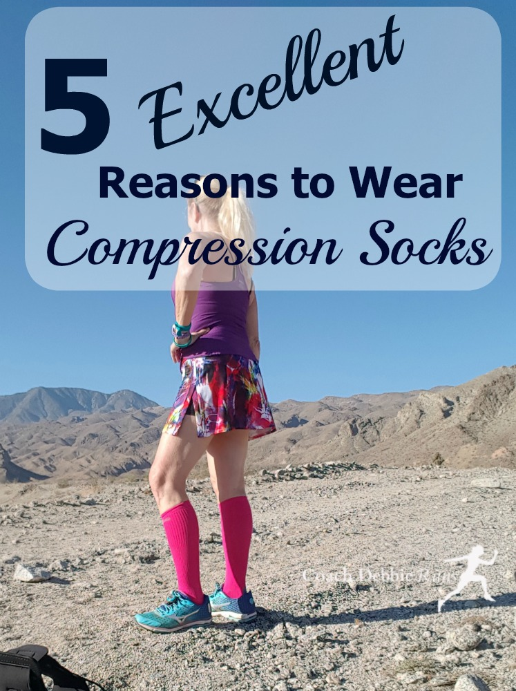 Can Compression Socks help runners? Here are 5 excellent reasons to wear compression socks (or sleeves).