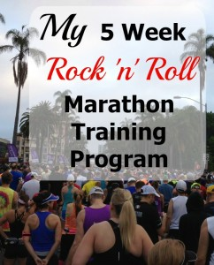 5 Weeks Until It's Time to Rock and Roll (better start training)!