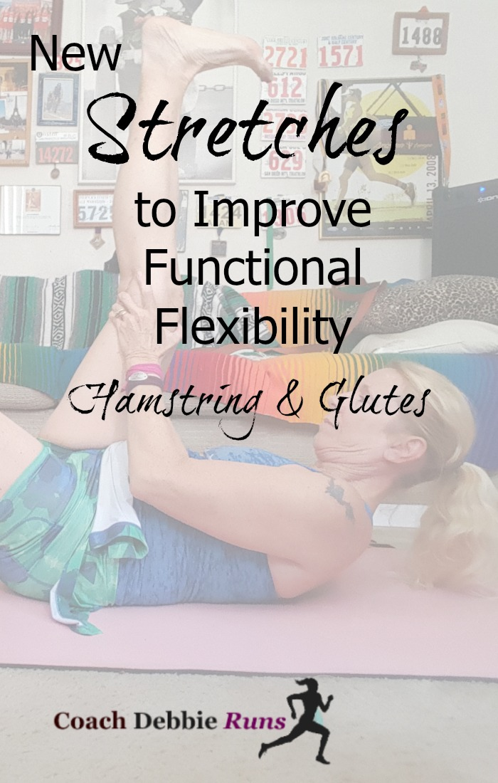 I want to show you another series of stretches that are excellent for runners and will also increase functional flexibility. These will specifically target the glutes and hamstrings, as well as the adductors and abductors.