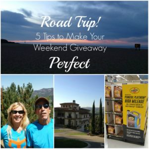 Road Trip! 5 Tips to Make Your Weekend Getaway Perfect!