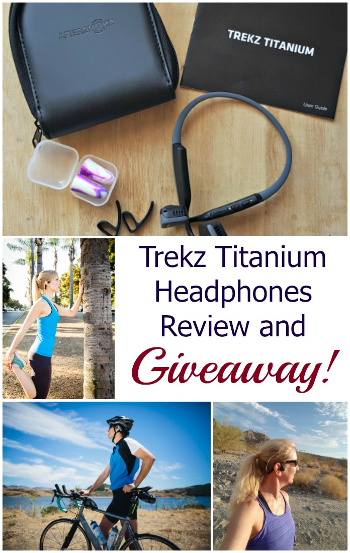 Check out my review of Trekz Titanium Headphones and enter the giveaway to win a pair of your own! They use bone conduction technology for a safer and more comfortable experience. #ad