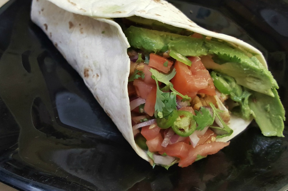 Have you tried jackfruit yet? This ultimate vegan jackfruit burrito is a great place to start!