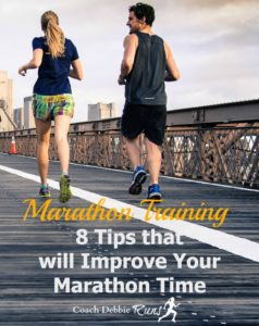 Marathon Training: 8 Tips that will Improve Your Marathon Time