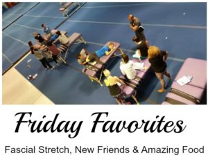 Friday Favorites: Fascial Stretch in Tempe, New Friends and Vegan on the Road